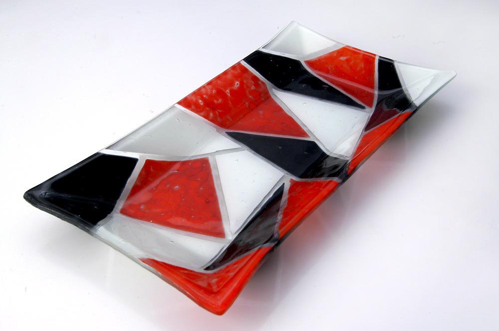Bandejas rectangulares a m b a r vitrofusion - Bandejas para sushi ...